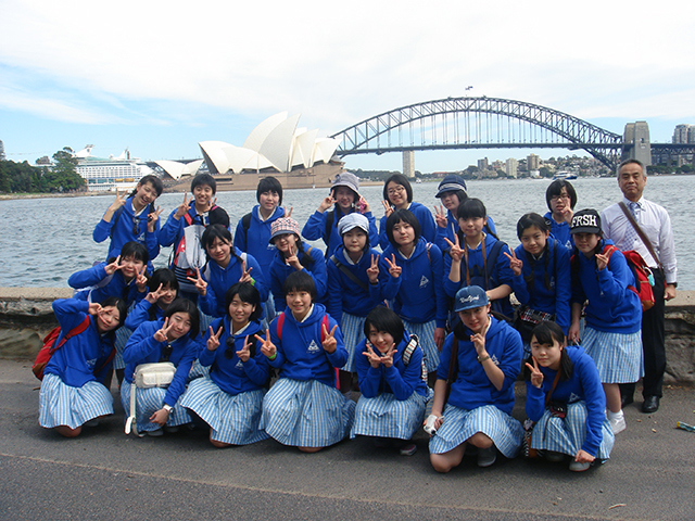 Report on School Excursion to Australia of Junior High School 1