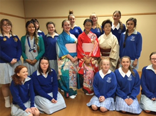 Short-Term Exchange Students from St Margaret Mary's College